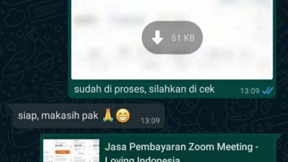 Jasa Upgrade Akun Zoom Meeting Pro / Business